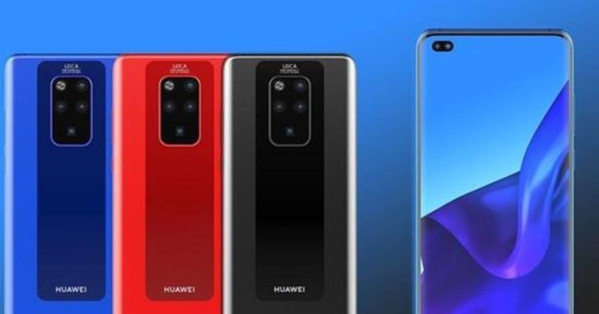 Concepto del Huawei® Mate 30 Pro