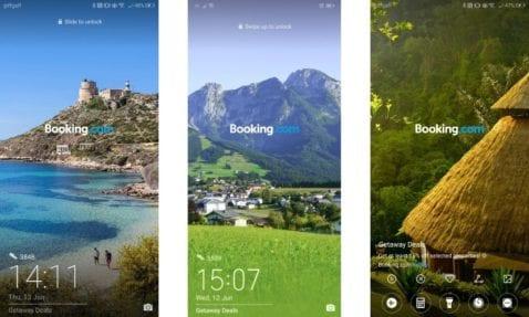 Fondos pantalla publicidad Huawei