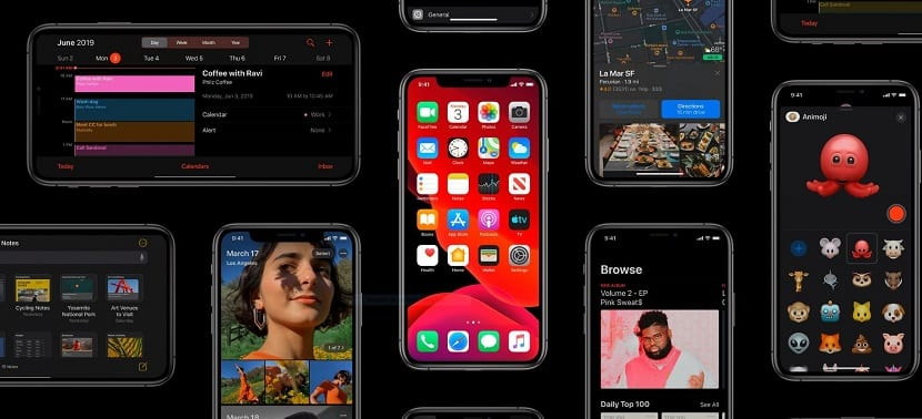 Modo oscuro iOS™ 13