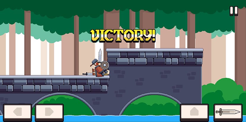 Knight Brawl en Android