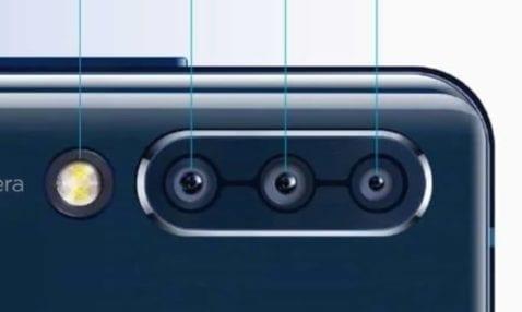 Triple cámara del Lenovo Z6