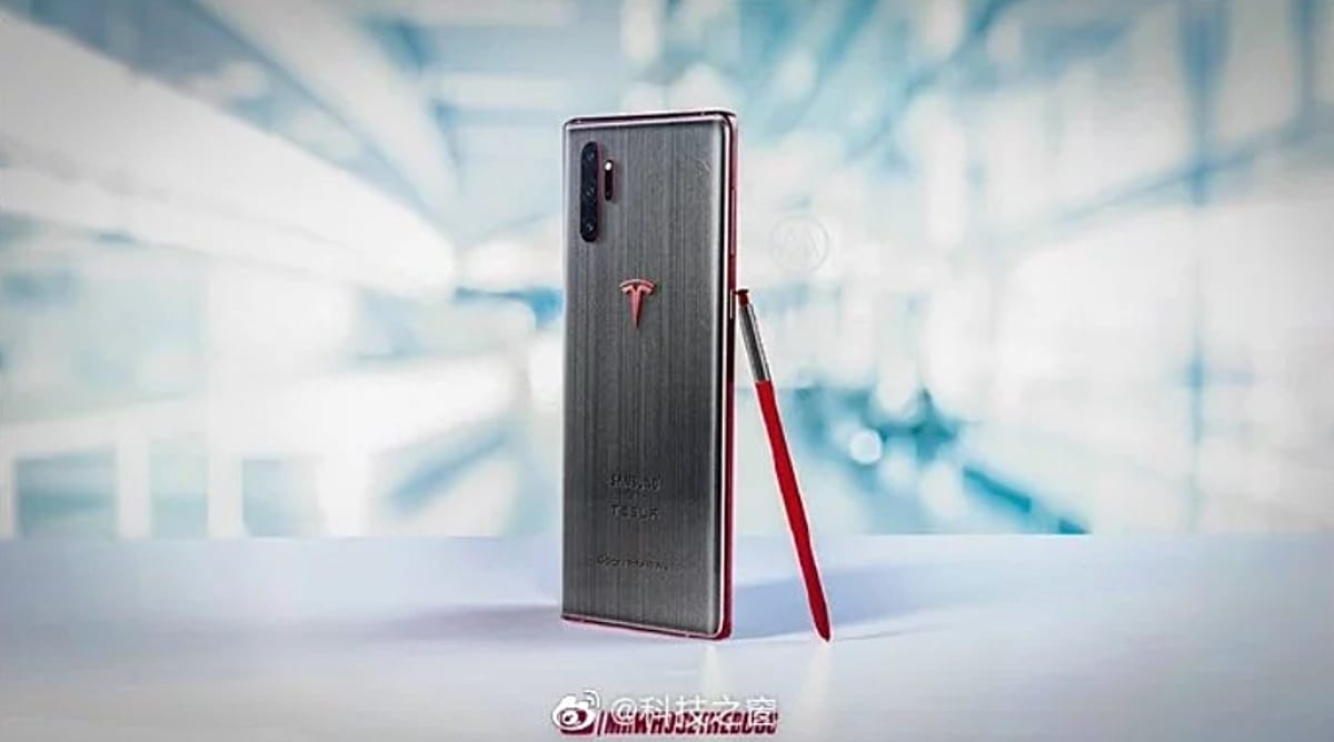 Samsung Galaxy Note 10 Tesla Edition
