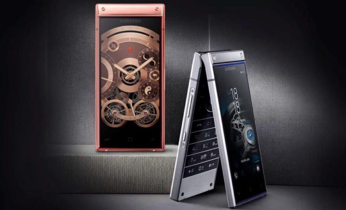 Smartphone plegable Samsung W2019
