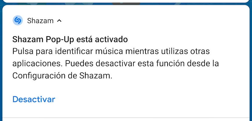 Shazam - Reconocer canciones dispositivo