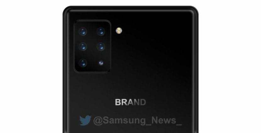 Smartphone Sony con seis cámaras