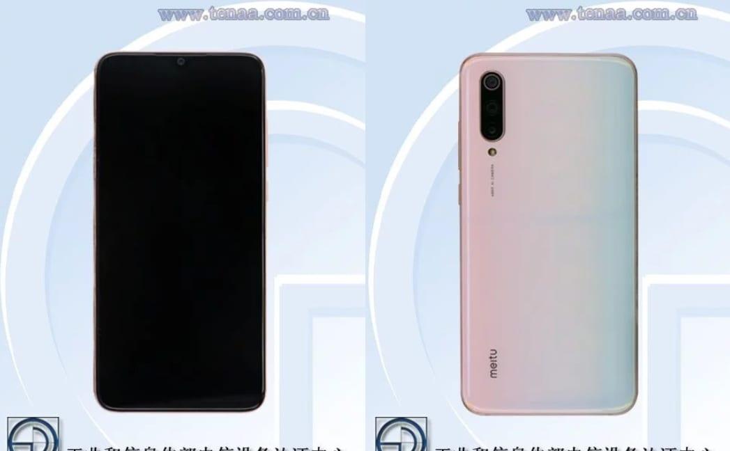 Xiaomi Mi CC9 en TENAA