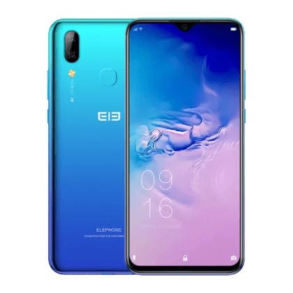 Elephone A6 Max en azul