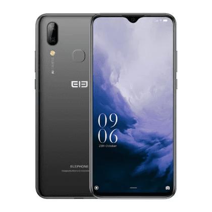Elephone A6 Max en negro