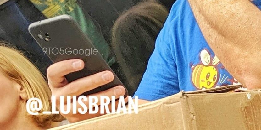 Google Pixel 4 tren Londres