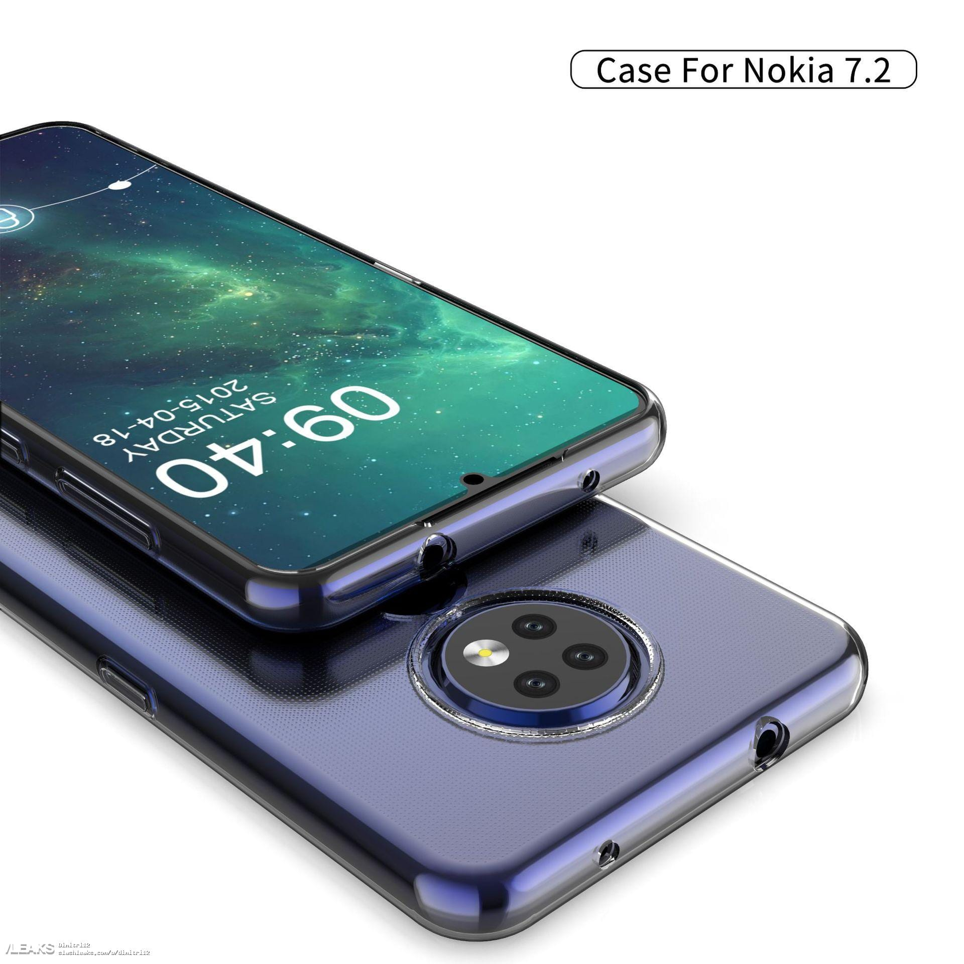 Renders del Nokia 7.2