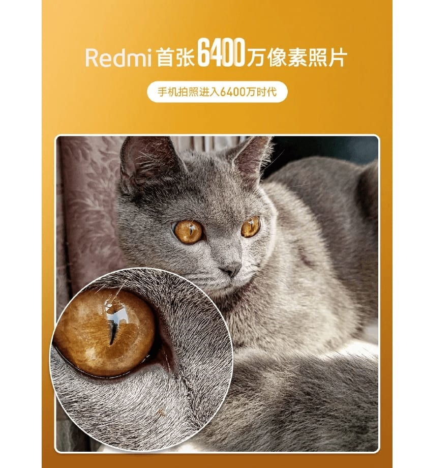 Redmi camara 64 MP