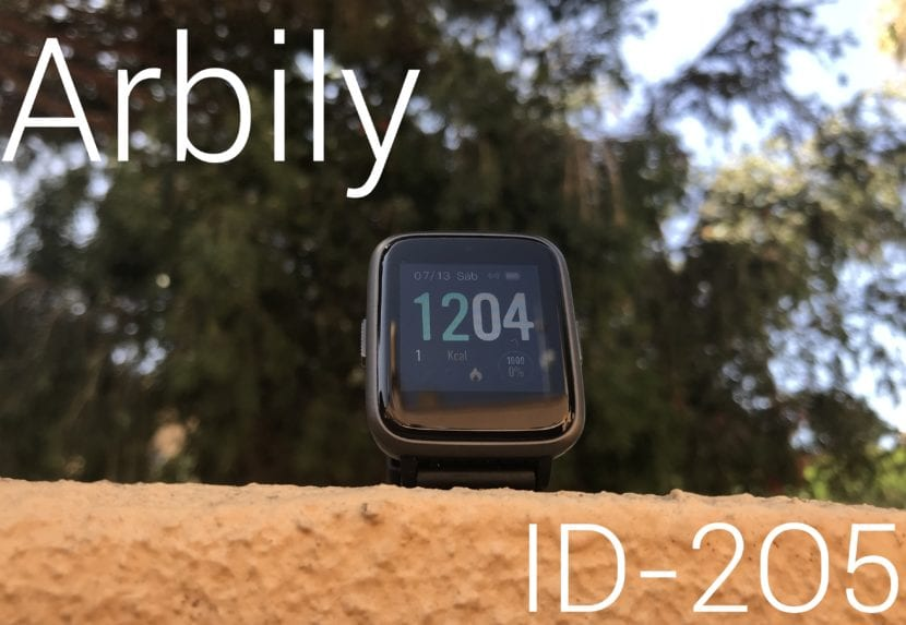Review smartwatch Arbily ID205