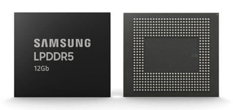Memoria RAM LPDDR5 de 12 GB de Samsung