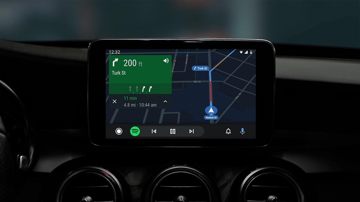 Nueva interfaz de Android Auto