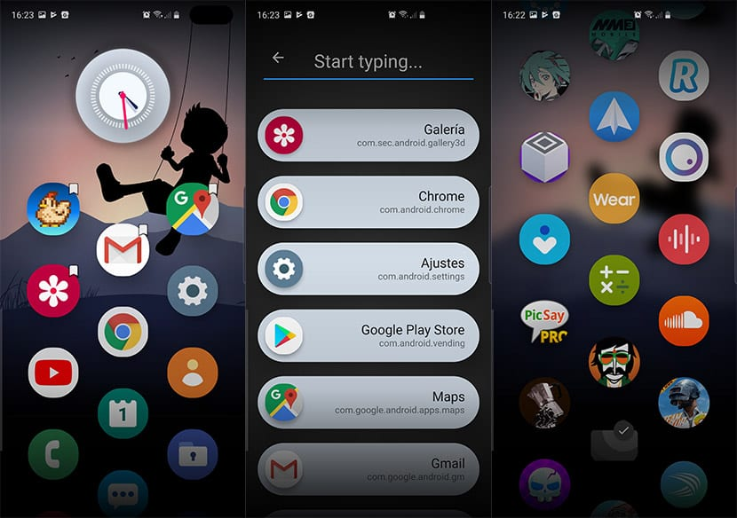 Ceri Launcher en Android
