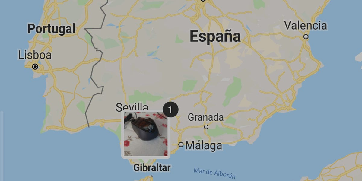 Cómo ver fotos mapa