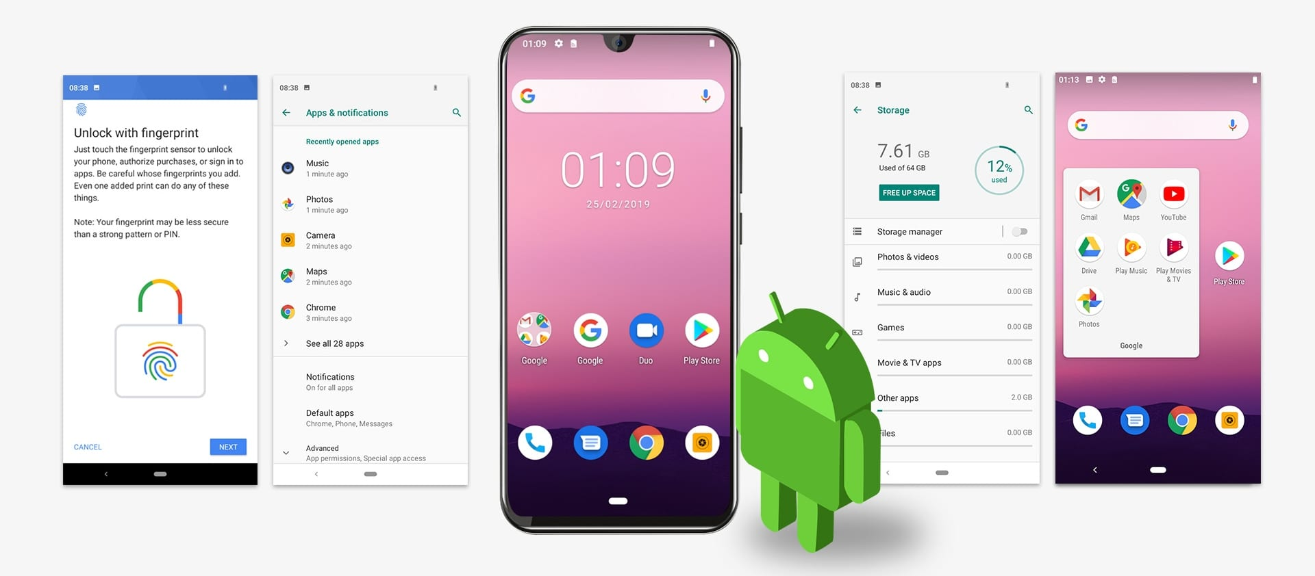 Cubot R19 con Android Pie