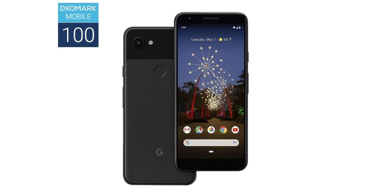Google Pixel 3a en DxOMark