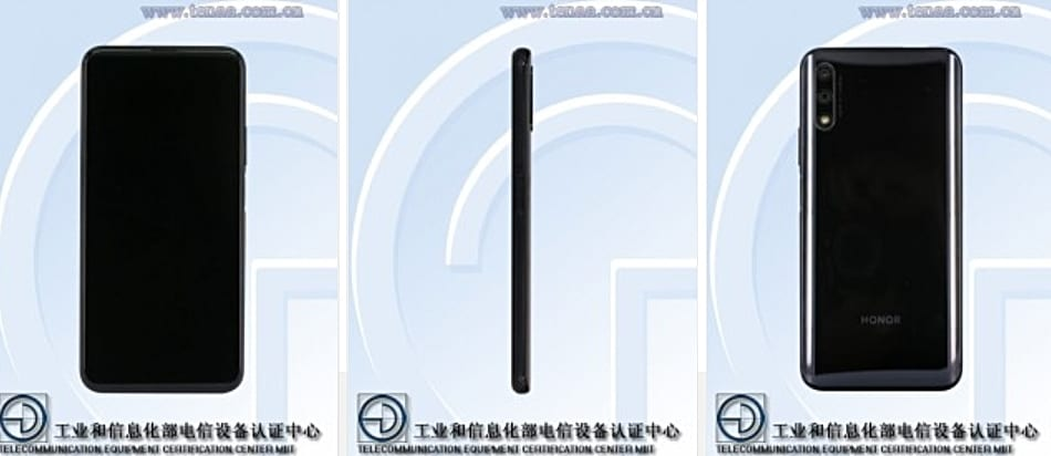 Honor 9X en TENAA