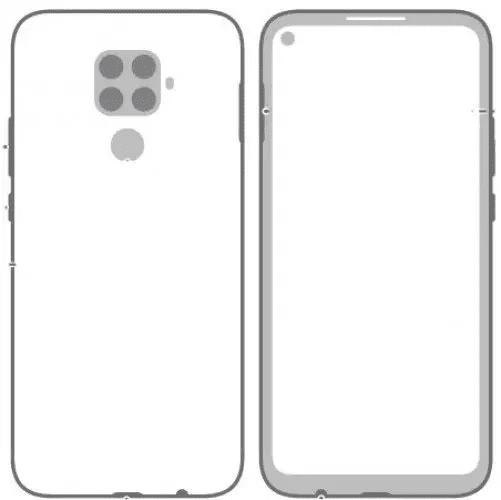 Esquema del Huawei Mate 30 Lite