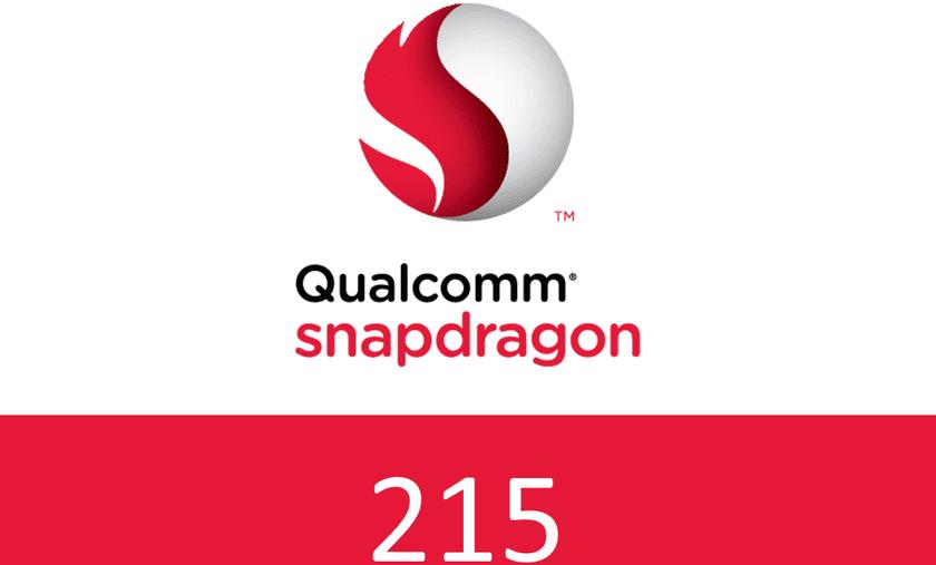 Procesador Qualcomm Snapdragon 215 oficial