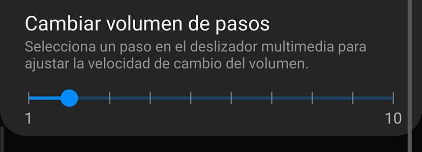 Pasos de volumen