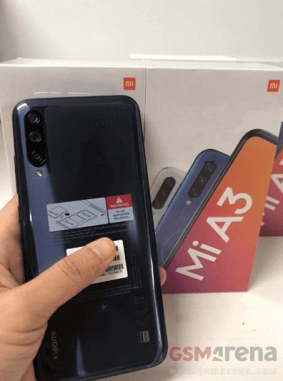 Xiaomi Mi A3 revelado en su caja