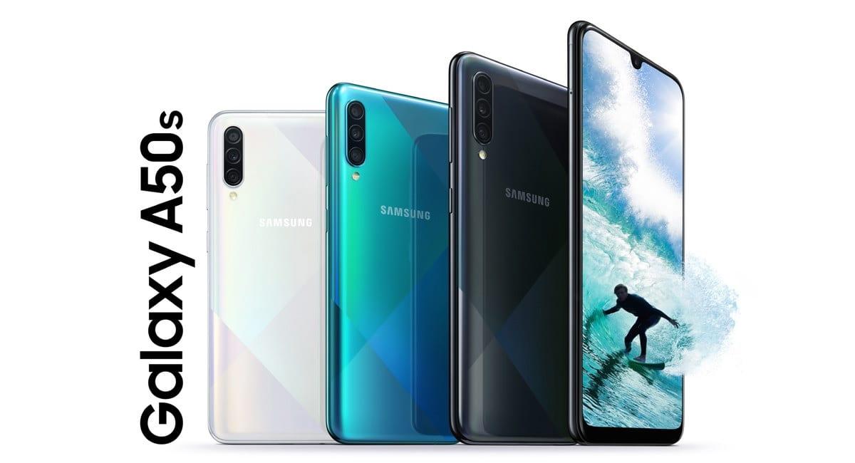 Galaxy A50s: La gama media de Samsung se renueva