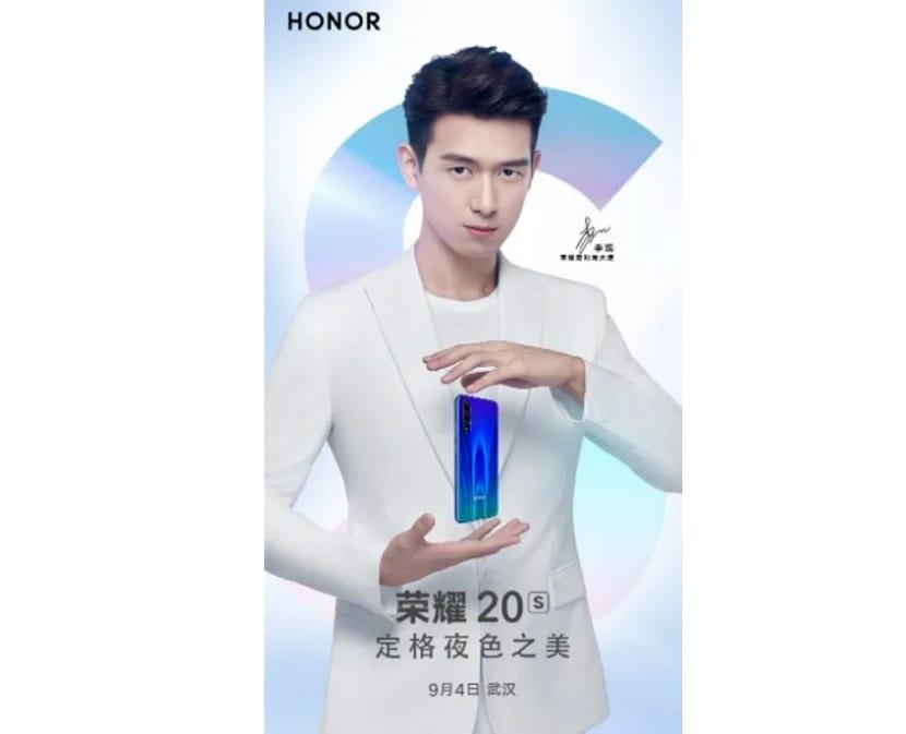 Honor 20S presentacion
