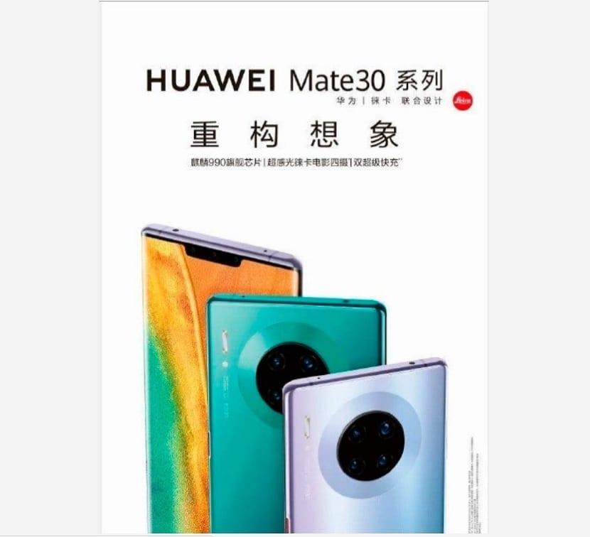 Huawei Mate 30 Pro diseño