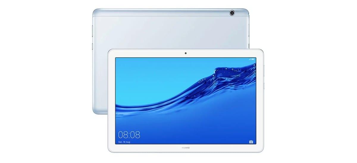Huawei MediaPad T5 en color Mist Blue