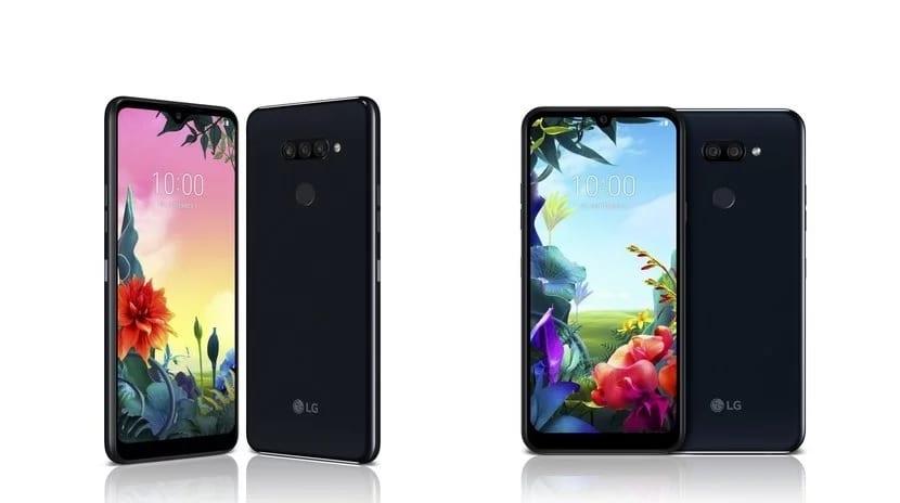 LG K40S y K50S