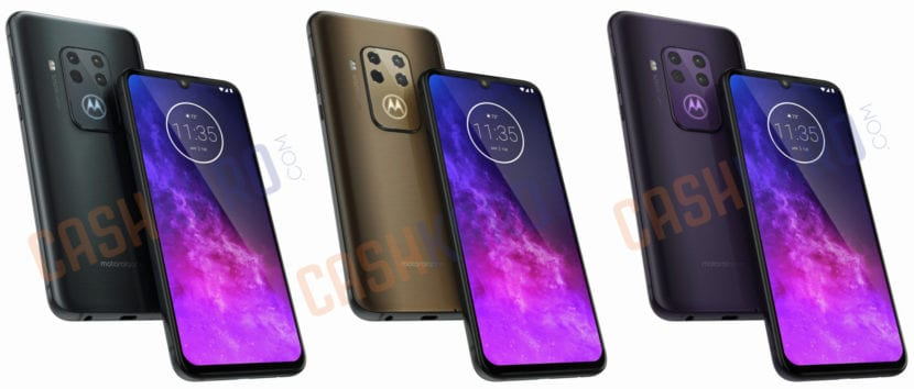 Renders del Motorola One Zoom