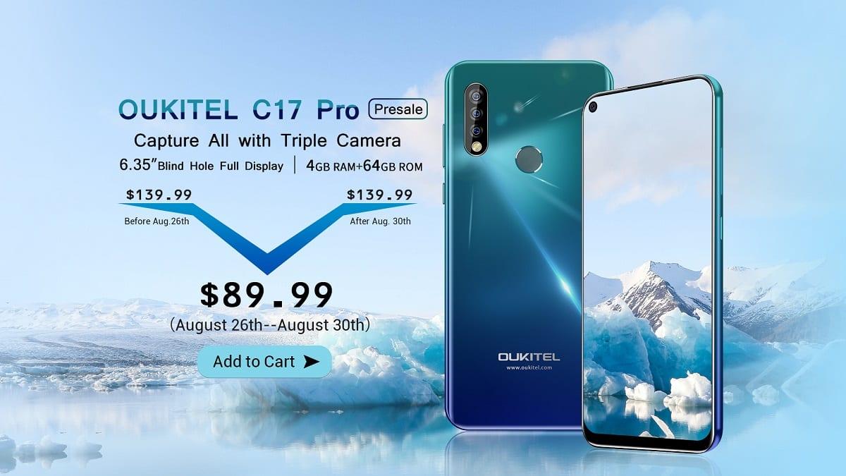 OUKITEL C17 Pro promocion