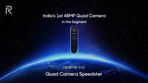 Realme 5 Pro con cámara cuádruple de 48 MP