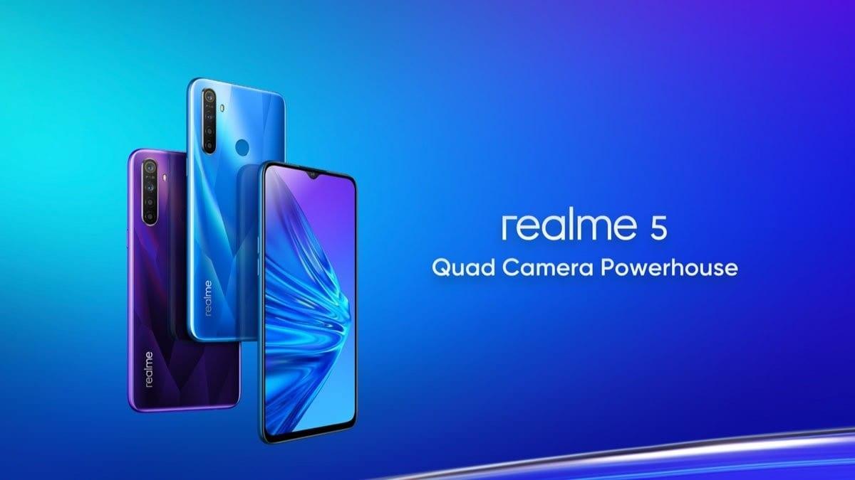 La gama de los Realme 5 es un éxito en ventas en India