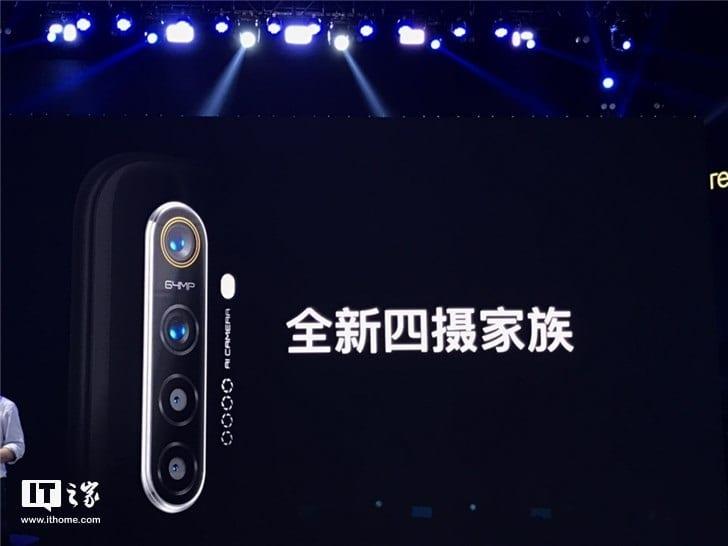 Teléfono Realme con 64 MP con cámara cuádruple anunciado