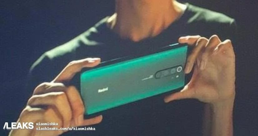 Redmi Note 8 Pro filtrado