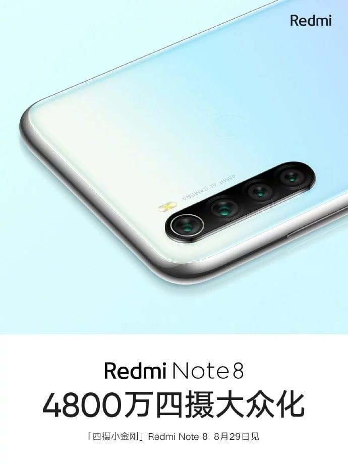 Cámaras del Redmi Note 8