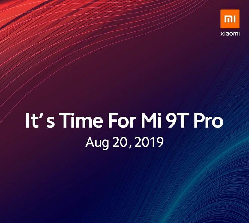 Xiaomi Mi 9T Pro lanzamiento