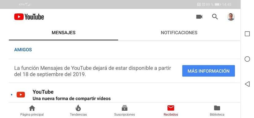 Cómo descargar los mensajes de YouTube antes de que cierre el servicio
