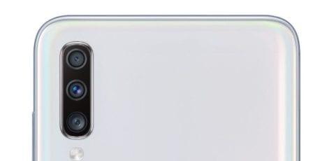 Cámara del Samsung Galaxy A70
