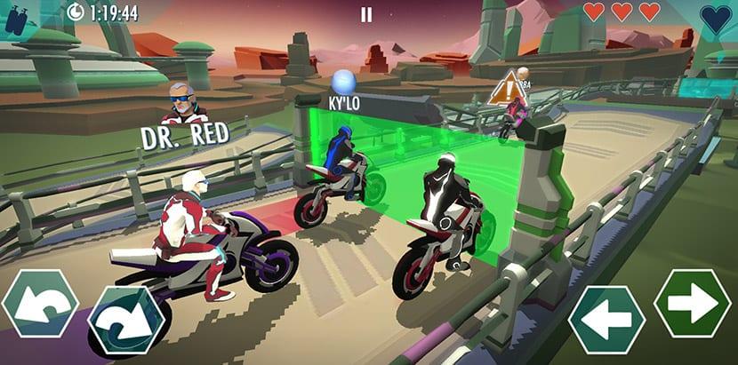 Gravity Rider Zero competidores