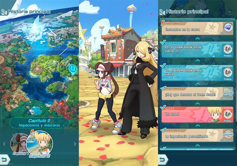Pokémon Masters en Android