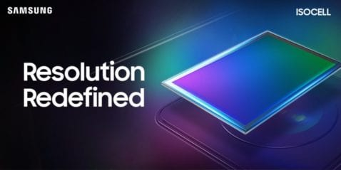 Samsung Isocell cámara