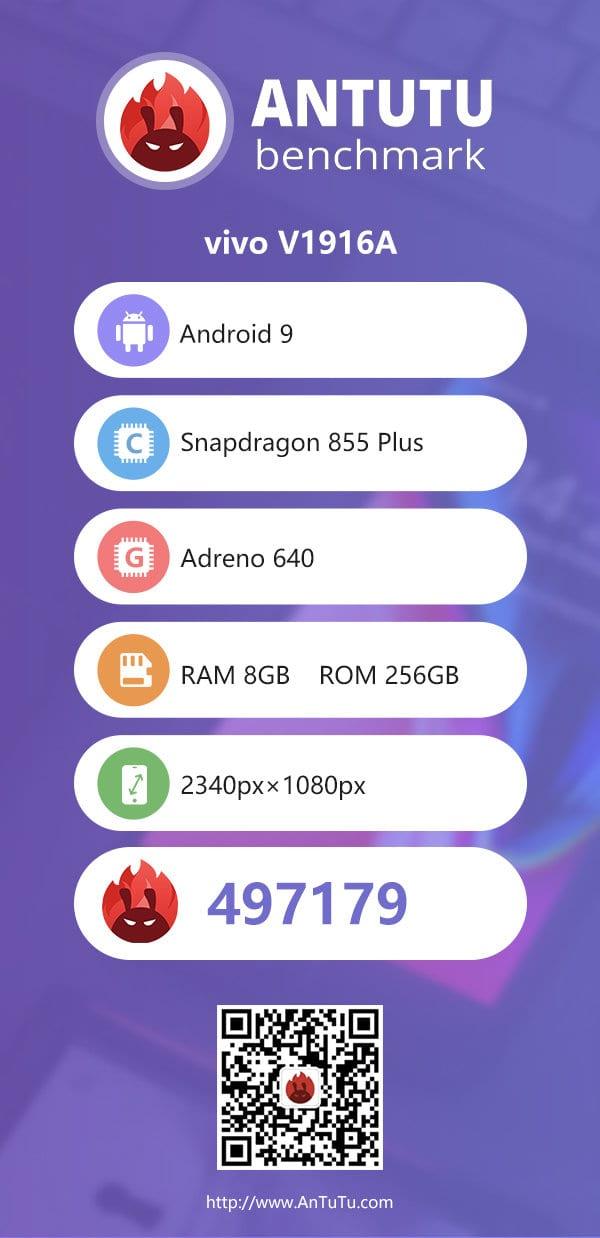 iQOO Pro 5G de Vivo en AnTuTu