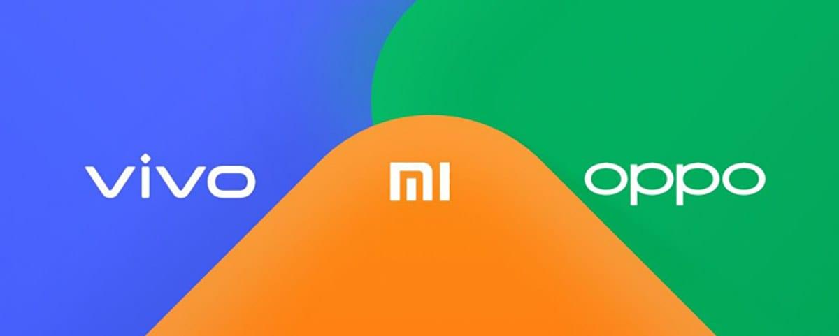 Xiaomi, Oppo y Vivo trabajan conjuntamente en una solución para compartir archivos por cercanía