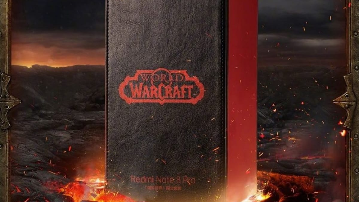 Redmi Note 8 Pro World of Warcraft