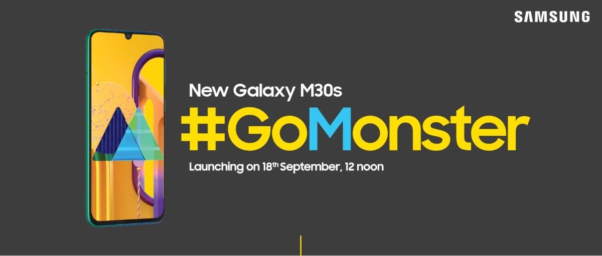 Lanzamiento del Samsung Galaxy M30s