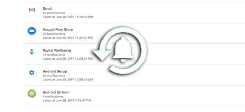 Cómo recuperar notificaciones Android